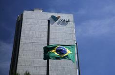 Foto de la sede de la compañía minera brasileña Vale, en el centro de Río de Janeiro, Brasil, 15 de diciembre de 2014. La minera brasileña Vale informó el jueves que produjo 85,3 millones de toneladas de su propio mineral de hierro en el segundo trimestre, el segundo mayor volumen de producción trimestral que registra la firma. REUTERS/Pilar Olivares/Files