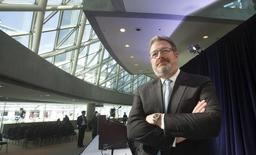 Presidente-executivo da Thomson Reuters, Jim Smith. 06/05/2015. REUTERS/Fred Thornhill