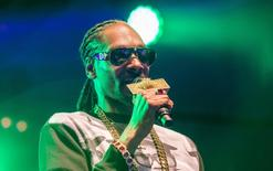 Rapper Snoop Dogg performs in Uppsala, Sweden, July 25, 2015. REUTERS/Marcus Ericsson/TT News Agency