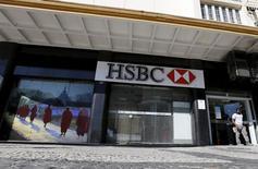 Filial da HSBC no Rio de Janeiro.   09/06/2015   REUTERS/Sergio Moraes