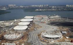 Vista aérea do Parque Olímpico do Rio de Janeiro. 29/07/2015 REUTERS/Ricardo Moraes