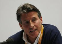 Athletics - IAAF Diamond League 2015 - Sainsbury's Anniversary Games - Queen Elizabeth Olympic Park, London, England - 24/7/15 British politician and former athlete Sebastian Coe talks to the media Action Images via Reuters / Matthew Childs Livepic/Files