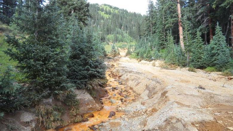 Wastewater spill from Colorado gold mine triples in...