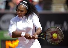 Serena Williams  in Bastad, Sweden, July 15, 2015.  REUTERS/Adam Ihse/TT News Agency