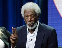 Freeman participa de evento em Beverly Hills.  17/7/2014.  REUTERS/Kevork Djansezian