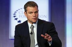 Ator Matt Damon em NY. 23/9/2014 REUTERS/Shannon Stapleton