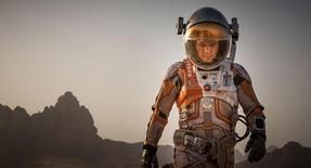 "Matt Damon is seen in a still from ""The Martian"". REUTERS/20th Century Fox/Handout"