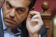 Primeiro-ministro da Grécia, Alexis Tsipras.  14/08/2015   REUTERS/Christian Hartmann