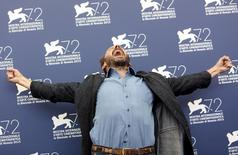 "Actor Ralph Fiennes attends the photocall for the movie "" A Bigger Splash "" at the 72nd Venice Film Festival, northern Italy September 6, 2015. REUTERS/Manuel Silvestri"