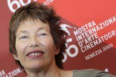 British actress Jane Birkin poses during a photocall at the 66th Venice Film Festival September 7, 2009. REUTERS/Tony Gentile