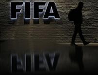 Entrada da sede da Fifa, em Zurique, na Suíça. 20/10/2010  REUTERS/Christian Hartmann
