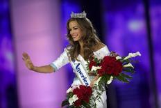 Miss Geórgia, Betty Cantrell, é eleita Miss EUA 2016. 13/09/2015 REUTERS/Mark Makela
