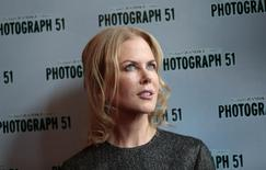 Photograph 51 cast member Nicole Kidman poses for a photograph at the Noel Coward Theatre in London, Britain September 7, 2015.  REUTERS/Suzanne Plunkett