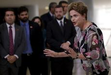 Presidente Dilma Rousseff em Brasília. 15/9/2015 REUTERS/Ueslei Marcelino