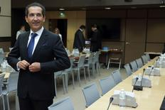 Altice President Patrick Drahi at the French National Assembly in Paris, May 27, 2015.    REUTERS/Philippe Wojazer
