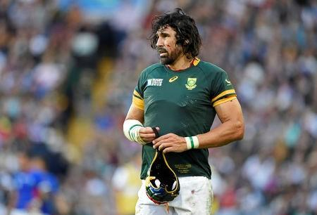 Springboks unchanged for New Zealand, Matfield on bench