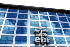 EDF, son partenaire chinois CGN et le gouvernement britannique ont conclu mercredi une série d'accords en vue d'une décision finale d'investissement dans le projet de construction de deux réacteurs nucléaires de type EPR àHinkleyPoint, dans le sud-ouest de l'Angleterre. /Photo d'archives/REUTERS/Benoît Tessier