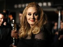 Cantora Adele durante premiação do Osca. 24/2/2013.   REUTERS/Lucas Jackson