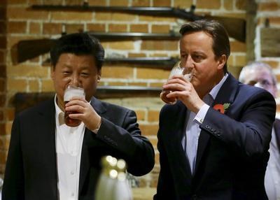 Xi Jinping in Britain