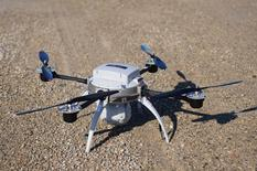 The Aeryon Scout, a small drone developed by start-up Aeryon Labs used by public safety, commercial and industrial users to reliably collect high quality aerial imagery and data is pictured in Waterloo, Ontario, March 11, 2014.  REUTERS/Euan Rocha