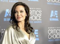 Atriz Angelina Jolie durante evento do Annual Critics' Choice Movie Awards, em Los Angeles, nos Estados Unidos, em janeiro. 15/01/2015 REUTERS/Kevork Djansezian