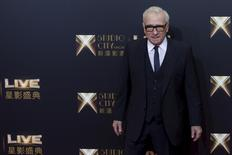 """U.S. director Martin Scorsese poses on the red carpet before the opening ceremony of Studio City and the premiere of the short film """"The Audition"""" in Macau, China, October 27, 2015 REUTERS/Tyrone Siu"""