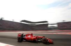 Formula One - F1 - Mexican Grand Prix 2015 - Autodromo Hermanos Rodriguez, Mexico City - 1/11/15 Ferrari's Sebastian Vettel in action  Mandatory Credit: Action Images / Hoch Zwei Livepic