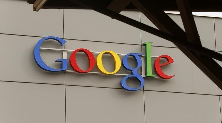 A logo is pictured at Google's European Engineering Center in Zurich April16, 2015. REUTERS/Arnd Wiegmann/Files