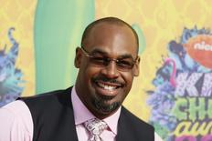 Retired NFL Player Donovan McNabb arrives at the 27th Annual Kids' Choice Awards in Los Angeles, California March 29, 2014.    REUTERS/Danny Moloshok