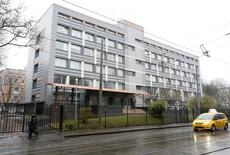 """A general view shows a building of the federal state budgetary institution """"Federal scientific centre of physical culture and sports"""", which houses a laboratory led by Grigory Rodchenkov and accredited by the World Anti-Doping Agency (WADA), in Moscow, Russia, November 10, 2015. REUTERS/Sergei Karpukhin"""