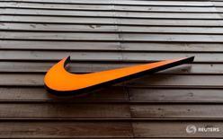 Logo da Nike visto em loja em São Paulo.    28/05/2015    REUTERS/Paulo Whitaker