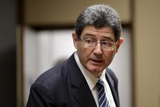 Ministro da Fazenda, Joaquim Levy, durante evento em Brasília.   04/11/2015    REUTERS/Ueslei Marcelino