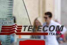 Telecom Italia veut conserver une participation de 15% à 20% dans Inwit, l'opérateur télécoms italien se préparant à lancer un nouvel appel d'offres sur une portion du capital de sa filiale antennes. /Photo d'archives/REUTERS/Max Rossi