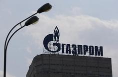 Le géant gazier russe Gazprom a annoncé mercredi l'interruption de ses livraisons de gaz à l'Ukraine en l'attente du versement d'un retard de paiement. /Photo prise le 10 août 2015/REUTERS/Maxim Shemetov
