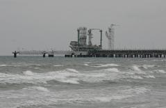 СПГ-терминал в Мармаре-Эреглизи. 6 января 2009 года. Турция позитивно оценивает возможность инвестиций в совместные с Катаром проекты строительства хранилищ для сжиженного природного газа (СПГ), сказал президент Тайип Эрдоган, намекнув, что трения с Россией увеличили привлекательность таких проектов. REUTERS/Osman Orsal