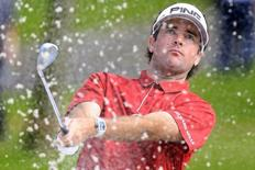 File photo of Bubba Watson during the second round of the WGC-HSBC Champions golf tournament in Shanghai, China, November 6, 2015. REUTERS/Aly Song