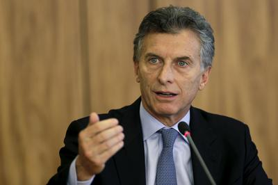 Argentina's Macri backtracks on ousting Venezuela from Mercosur