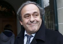 File picture of UEFA President Michel Platini arriving for a hearing at the Court of Arbitration for Sport (CAS) in Lausanne, Switzerland December 8, 2015. REUTERS/Denis Balibouse/Files