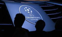 Logo da Liga dos Campeões visto durante evento em Monte Carlo.  28/08/2015   REUTERS/Eric Gaillard