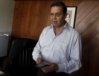 Ex-presidente de Honduras e dirigente de futebol Rafael Callejas concede entrevista à Reuters em Tegucigalpa, Honduras, no início de dezembro. 03/12/2015 REUTERS/Jorge Cabrera