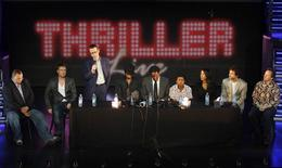 """En la imagen de archivo, un tributo al album de Michael Jackson, titulado Thriller, celebrado en el Lyric Theatre de Londres, el 26 de junio de 2009. El álbum de Michael Jackson """"Thriller"""" aún rompe barreras, más de 30 años después de su lanzamiento y a seis años de la muerte de la estrella del pop, convirtiéndose en el primero en la historia en superar las 30 millones de copias vendidas, dijeron el miércoles miembros de la industria discográfica. REUTERS/Stephen Hird"""