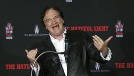 Tarantino, em Hollywood 5/1/2016  REUTERS/Mario Anzuoni