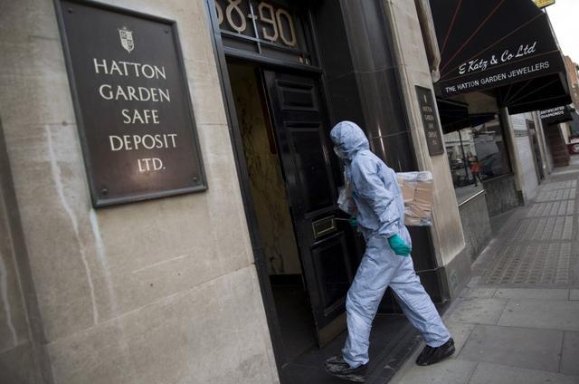 Grandpa Gang Guilty Of Biggest Burglary In English History Reuters