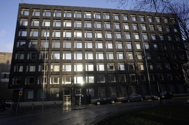 Sweden's central bank office is seen in Stockholm December 9, 2011. REUTERS/Ints Kalnins