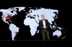 Reed Hastings, co-founder and CEO of Netflix, speaks during a keynote address at the 2016 CES trade show in Las Vegas, Nevada January 6, 2016.  REUTERS/Steve Marcus