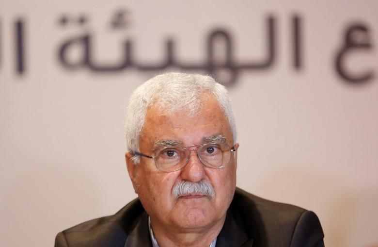 George Sabra, a veteran Christian opposition figure and acting President of the Syrian National Coalition, attends a meeting in Istanbul July 4, 2013. REUTERS/Murad Sezer