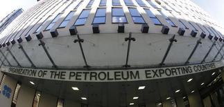 La sede de la Organización de Países Exportadores de Petróleo en Viena, nov 7, 2013. La Organización de Países Exportadores de Petróleo no ha agendado aún reuniones con Rusia ni con otras naciones de fuera del grupo para respaldar los precios del crudo, dijeron dos delegados de la OPEP el martes, después de que funcionarios rusos hablaron de una potencial cooperación con el grupo exportador.   REUTERS/Leonhard Foeger