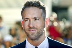 Ator Ryan Reynolds durante Festival de Toronto.  16/9/2015.    REUTERS/Fred Thornhill
