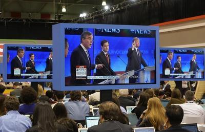 Rubio falters in presidential debate, offering hope to rivals