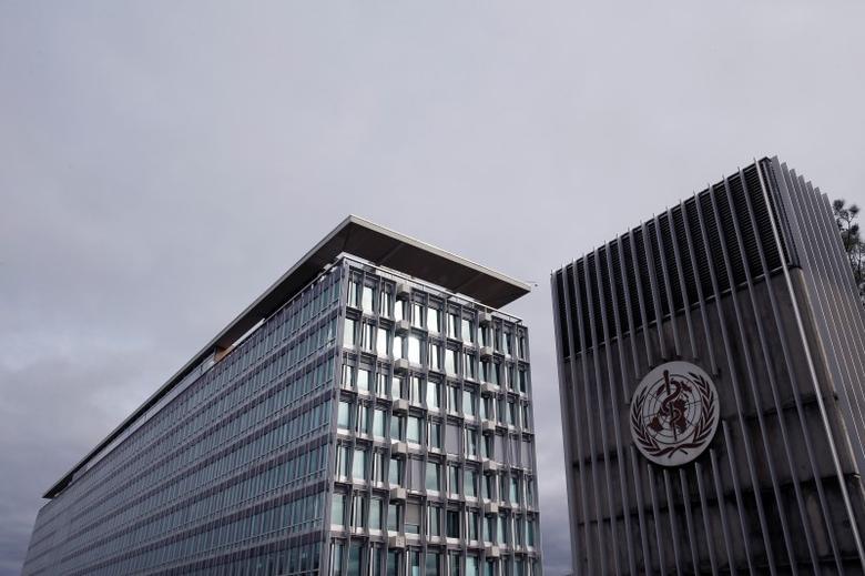 General view of the World Health Organization (WHO) headquarters in Geneva, Switzerland, February 1, 2016. REUTERS/Denis Balibouse